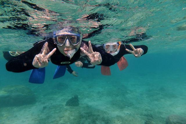 【沖縄・シュノーケリング】1グループ完全貸切!わがままに海を遊びつくそう!