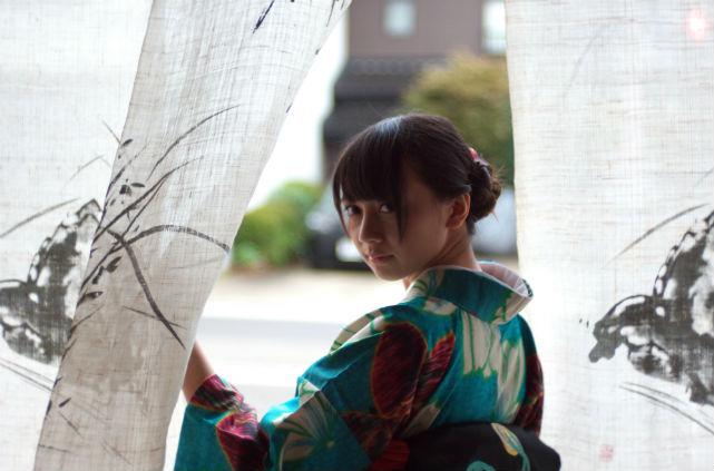 【石川・1日・レンタル着物】着物をきて、金沢観光に出かけよう!ゆっくり翌日返却プラン