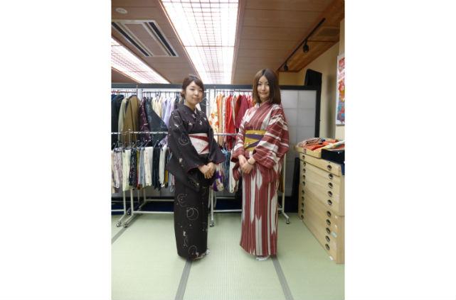 【石川・半日・レンタル着物】着物をきて、カフェや観光にでかけよう。お手軽当日返却プラン