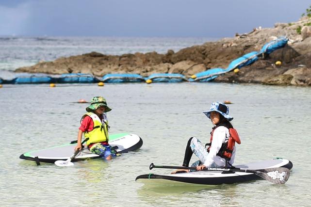 【沖縄・SUP・2泊3日】おトクにSUPを完全習得!宿泊付きパッケージプラン