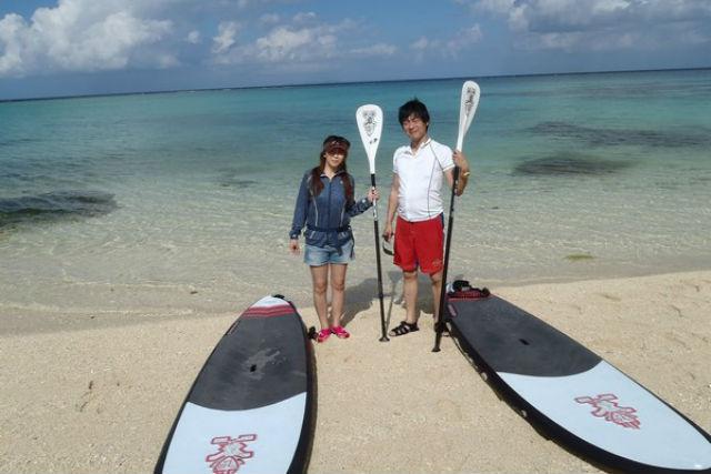 【沖縄北部・SUP】1泊2日で静かにすごす海辺の休日。やんばるの恵みも召し上がれ!