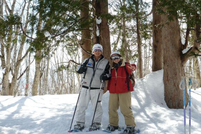 【長野・白馬・スノーシュー】スノーシューで白馬の幻想的な雪山を歩きまわろう