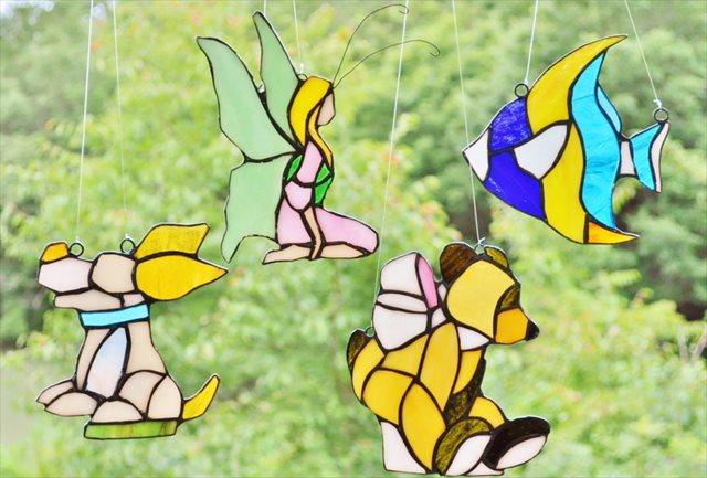 【兵庫・三田市・ガラス工芸】カラフルなガラスに癒される。ステンドグラス作りに挑戦