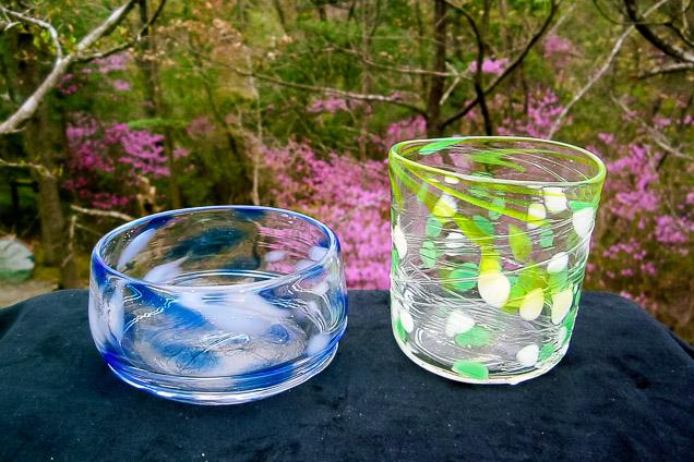 兵庫・三田市・吹きガラス(30分)