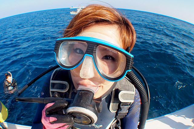 【沖縄宮古島・ファンダイビング】ボートエントリーで絶景のビューポイントへ直行しよう!