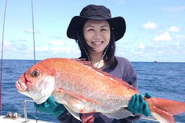【宮崎・海釣り】経験者向けプラン!釣りやすいルアー「鯛ラバ」で大物をGET!
