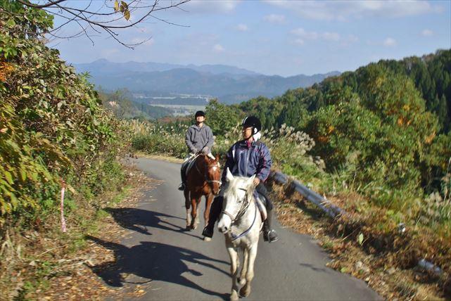 【秋田・体験乗馬】乗馬デビューに最適!鳥海山のふもとで楽しむ体験乗馬