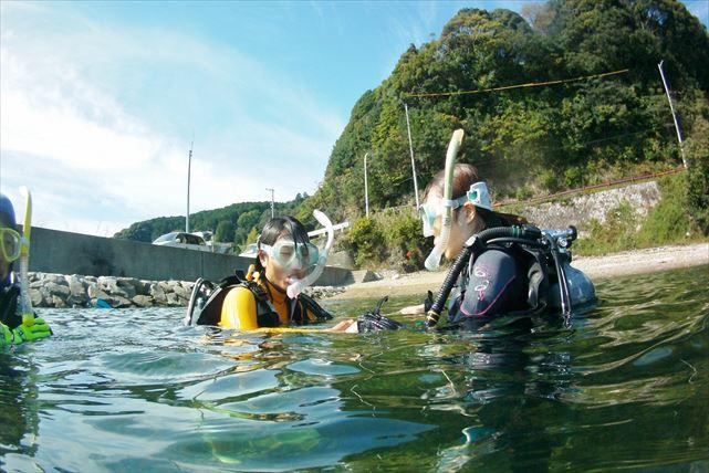 【三重・体験ダイビング】念願のファーストダイビング!実力派スクールで安全に楽しもう