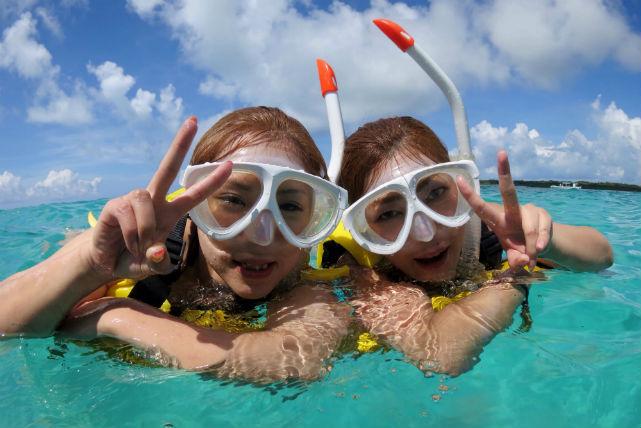 【石垣島・シュノーケリング】半日楽しもう!サンゴ礁シュノーケリングツアー!