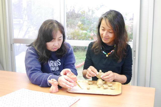 【沖縄・今帰仁村・シーサー作り】沖縄の伝統工芸を体験!手びねりでシーサーを作ろう