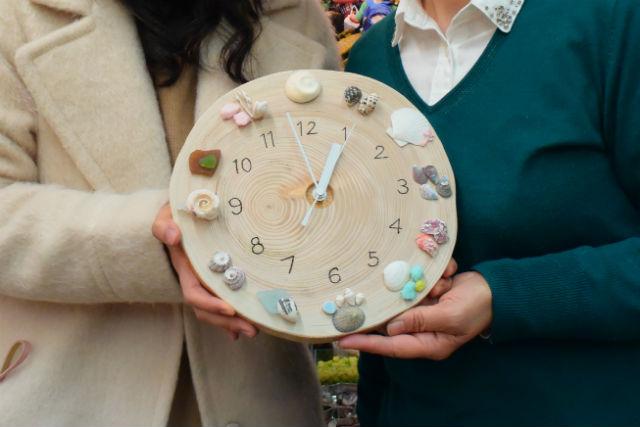 【静岡・木工体験】年輪で時を刻む!丸太の壁掛け時計をつくろう!