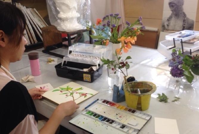 【愛知・絵画教室】水彩、油彩、日本画まで!自分の気持ちを色で表現してみませんか