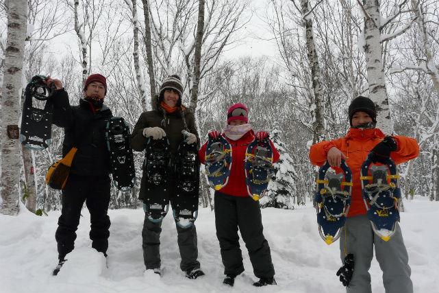 【北海道・富良野・スノートレッキング】冬の森を探検しよう!スノーピクニックプラン