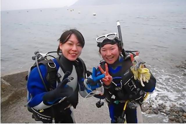 【愛媛・体験ダイビング】まずは始めてみよう!プライベートビーチで体験ダイビング