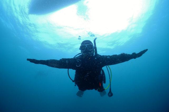 【広島市・体験ダイビング】初めての方も海に潜れます!体験ダイビング