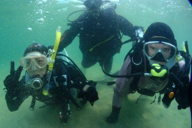 【島根県大田市・体験ダイビング】初心者も安心!優しいガイドと一緒に海の世界へ!
