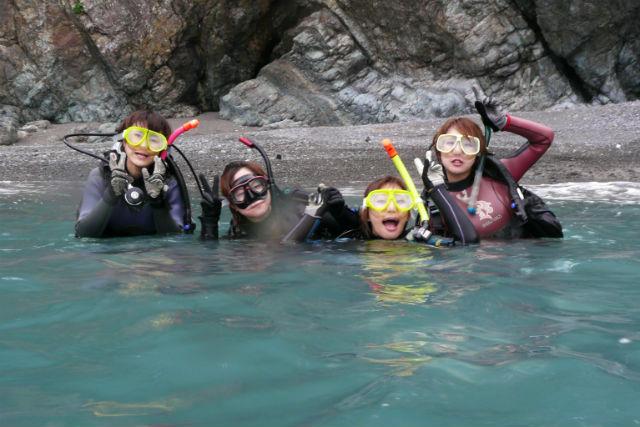 【香川・高松市・体験ダイビング】気軽に潜れる!瀬戸内海・体験ダイビング