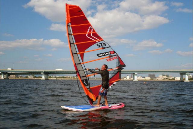 【兵庫県甲子園浜・経験者向け・ウィンドサーフィン】海を自由自在に滑ろう!半日ベーシックコース