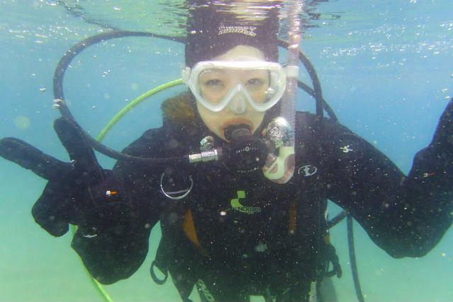 【香川・体験ダイビング】初めての方も気軽に海を満喫!瀬戸内海で体験ダイビング