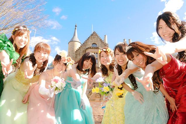 群馬・沼田・ロックハート城・プリンセス体験(~1時間)