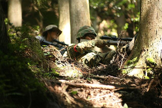 【京都市右京区・サバイバルゲーム】大自然の中での戦い!森林フィールド貸切プラン
