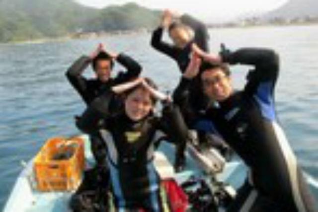 【兵庫・竹野町・ファンダイビング】「日本の渚100選」の海で、1ボートファンダイビング!