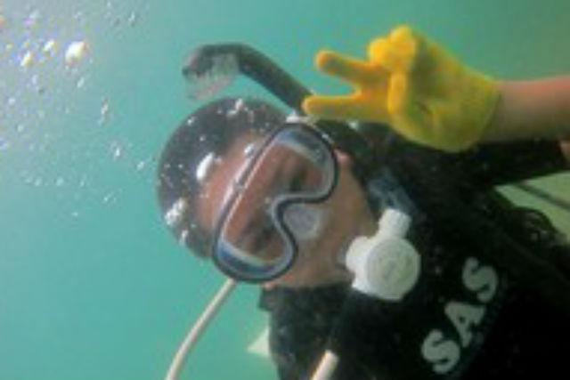 【兵庫・竹野町・体験ダイビング】初めてでも大丈夫!お気軽体験ダイビング