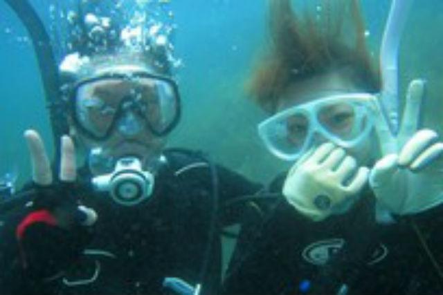 【兵庫・竹野町・体験ダイビング】ライセンス講習にも役立つ!本格体験ダイビングコース