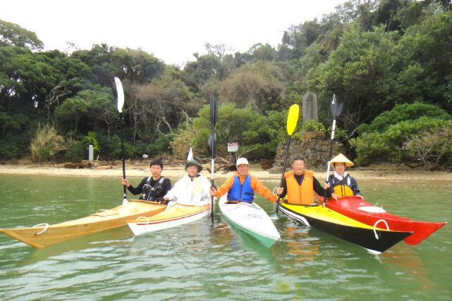【和歌山・半日・カヤック】半日プランでお手軽に!カヤックで神島を周遊・ハーフデイコース