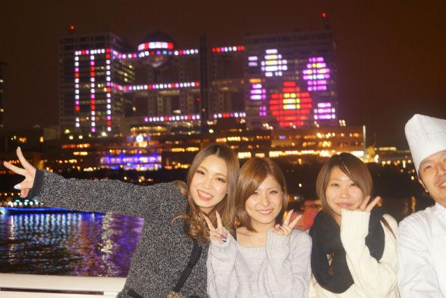 【東京・お台場・クルージング】 女子会や合コンに!貸切クルージングパーティーで盛り上がろう