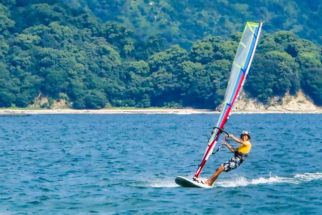 【広島県鳴川・ウインドサーフィン&SUP】2つのアクティビティを体験!ウインドサーフィン&SUP体験
