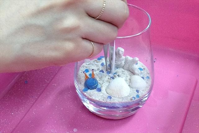 【石垣島・キャンドル作り】小さな海を閉じ込めよう!石垣クリアキャンドル作り