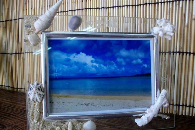【石垣島・マリンクラフト】石垣島の写真を飾ろう!石垣フォトフレーム作り