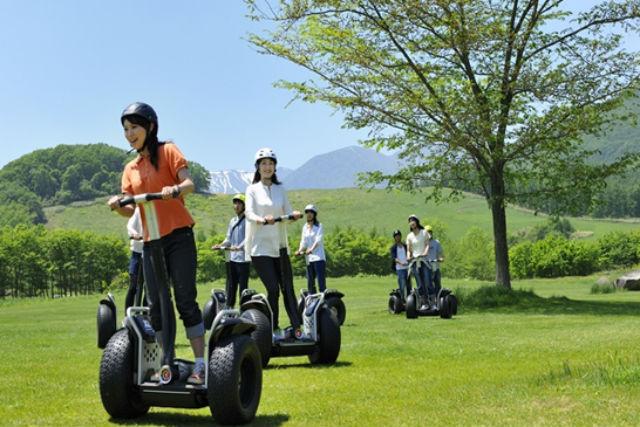 【北海道・十勝・セグウェイ】見晴らしのいい草原を軽やかに移動!セグウェイツアー