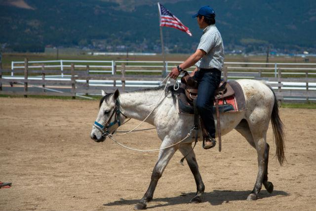 【阿蘇・乗馬体験】馬に乗って、阿蘇の自然を散歩しよう!外乗40分プラン