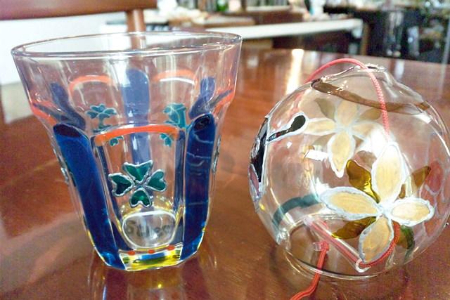 【岐阜・ガラス工芸】お部屋に飾るガラスアート!観賞用ガラスに、自由に絵を描こう