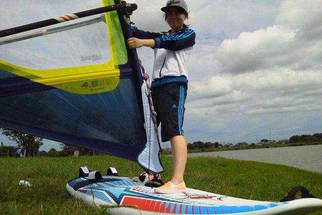 【兵庫県明石・90分・ウィンドサーフィン】初挑戦の方歓迎。ウインドサーフィン体験コース!