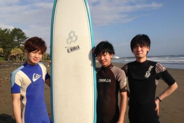 【宮崎県都城市・サーフィン体験】初めての方も、お一人様も安心!お手軽サーフィンデビュー