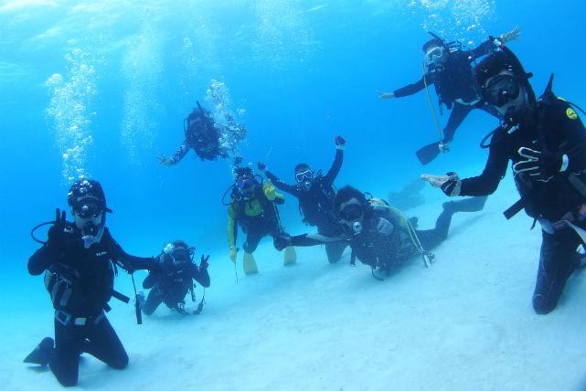 【石垣島・体験ダイビング】大満足の2ダイブエントリー!体験ダイビング+シュノーケリング