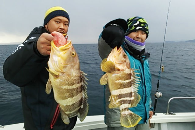 【富山・氷見・貸切・釣り体験】ターゲットを決めて、ルアー釣りを楽しもう!