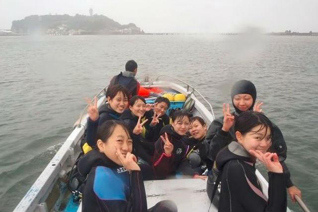 【神奈川県藤沢市・ファンダイビング】湘南・江ノ島ダイビング!(2ダイブ)