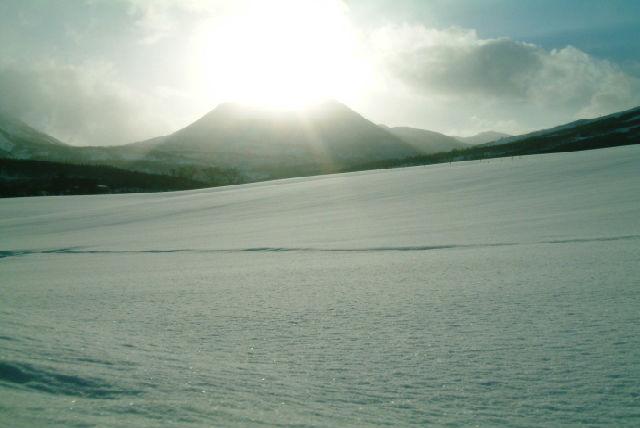 【ニセコ・60分・スノーモービル】一面の銀世界へ繰りだそう!大雪原・60分コース