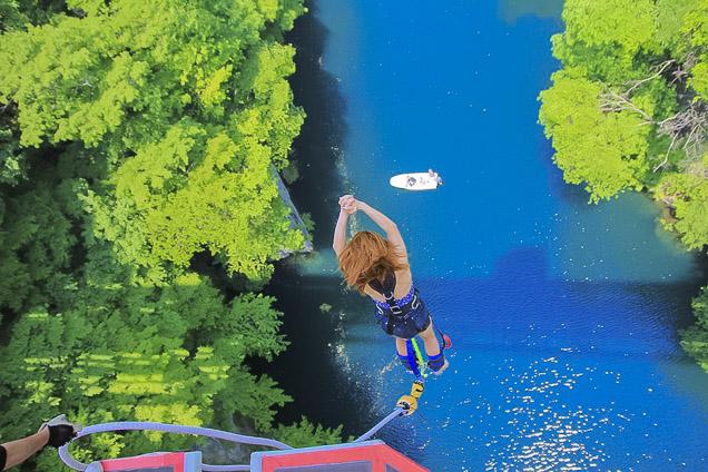 【初めての方限定】群馬・水上・バンジージャンプ(高さ最大62mのブリッジバンジー)
