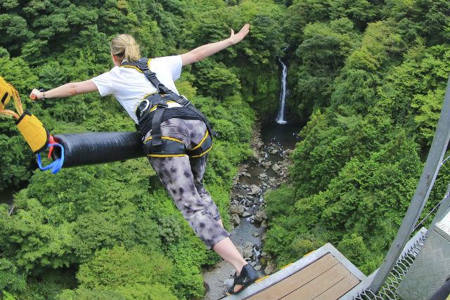 【初めての方限定】静岡・富士・バンジージャンプ(高さ54mのブリッジバンジー)