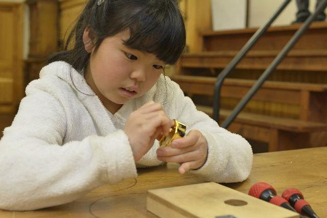 【山梨清里・オルゴール手作り】簡単!手作りオルゴールを20分で組み立てられる!