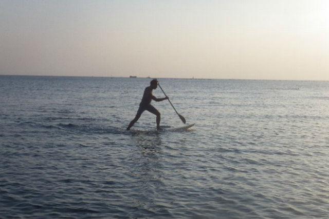 【兵庫県明石・SUP】まずは体験コースから!明石の海でSUPを始めよう!