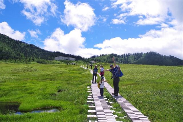 【富山・エコツアー】四季折々の景色を見に行こう!湿地高原、弥陀ヶ原を散策