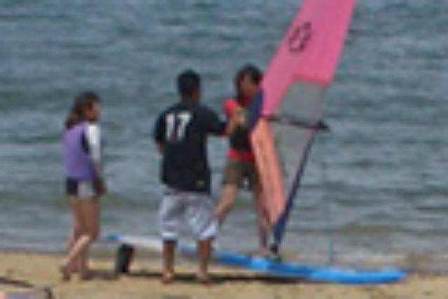 【福岡県福津市・ウインドサーフィン】自在に乗りこなそう!ウィンドサーフィン・5回レッスン