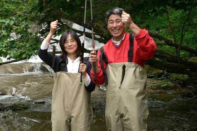 十勝川・渓流釣りセットツアー