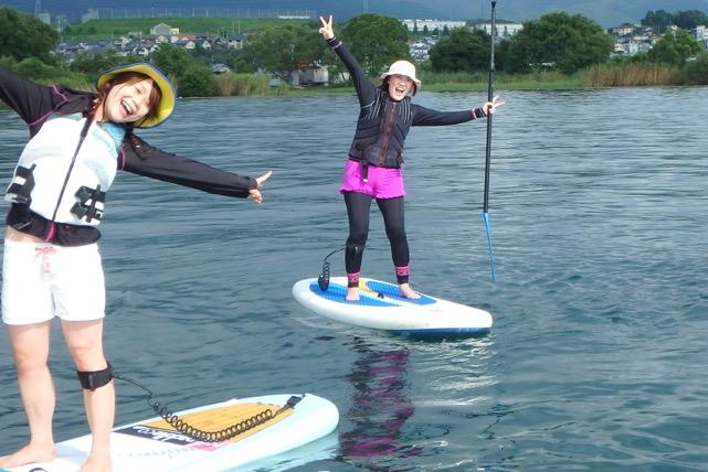 【滋賀・SUP】初心者対象!琵琶湖で水上さんぽを楽しもう!